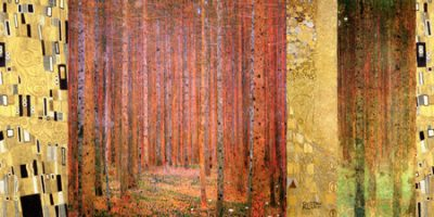 Gustav Klimt – Klimt Patterns Forest II
