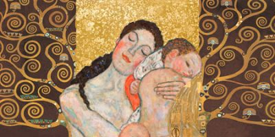 Gustav Klimt – Klimt Patterns Motherhood II