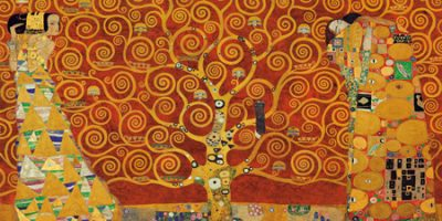 Gustav Klimt – Tree of Life (Red Variation)