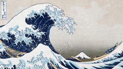 Katsushika Hokusai – The Wave off Kanagawa (detail)
