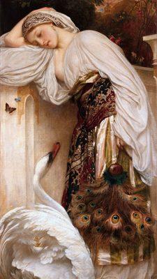 Frederic Leighton – Odalisque