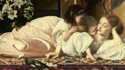 Frederic Leighton – Mother and Child