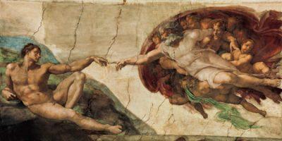 Michelangelo Buonarroti – La creazione di Adamo