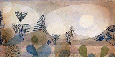 Paul Klee – Oceanic Landscape