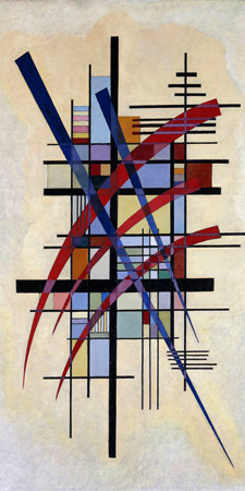 Wassily Kandinsky – Zeichen mit Begleitung