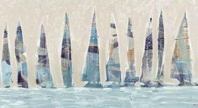 Meneely Dan – Dozen Muted Boats Panel