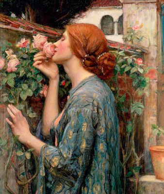 John William Waterhouse – The Soul of the Rose