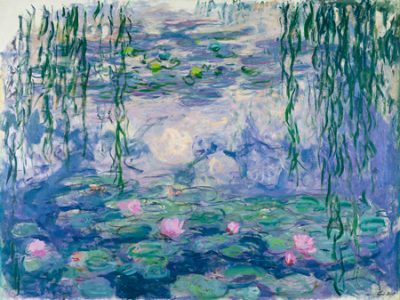 Claude Monet – Waterlilies