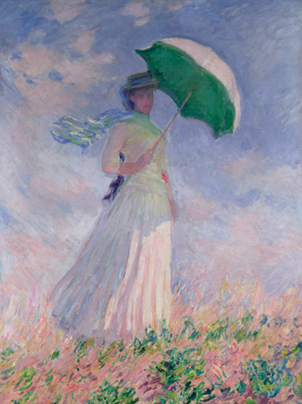 Claude Monet – Woman with a Parasol (Right)