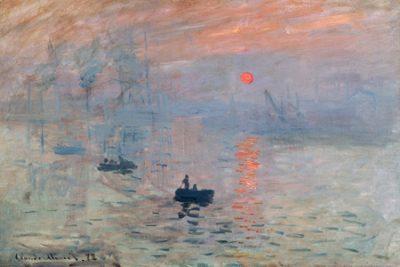 Claude Monet – Impression au soleil levant