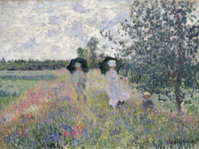 Claude Monet – Promenade prés d'Argenteuil