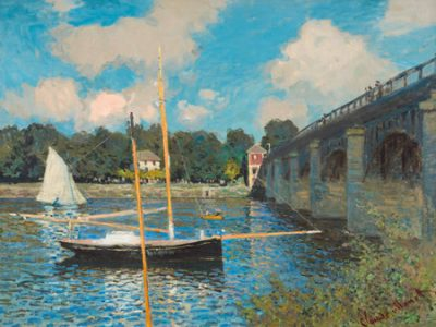 Claude Monet – The bridge at Argenteuil