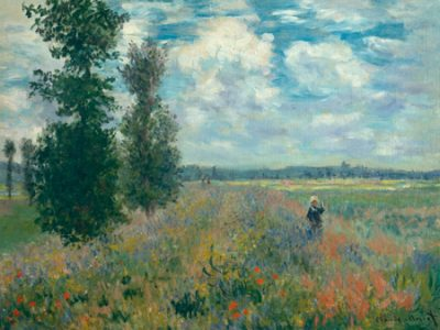 Claude Monet – Poppy Fields near Argenteuil