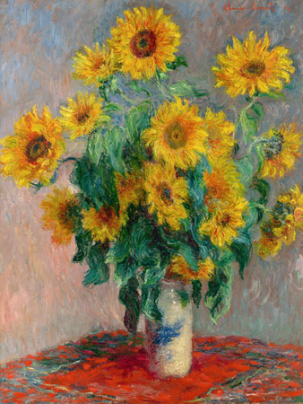 Claude Monet – Sunflowers