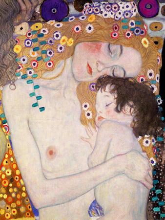 Gustav Klimt – Le Tre età della donna (detail)