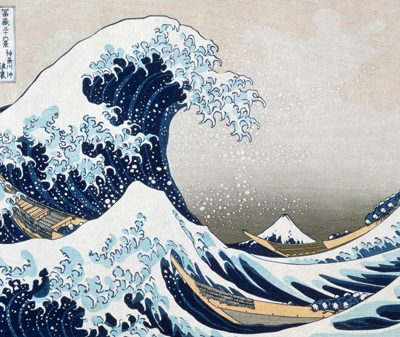 Katsushika Hokusai – The Great Wave off Kanagawa