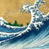 Katsushika Hokusai - The Big Wave (from 100 views of Mt. Fuji)