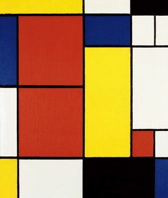 Piet Mondrian – Composition II