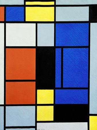 Piet Mondrian – Tableau No. 1