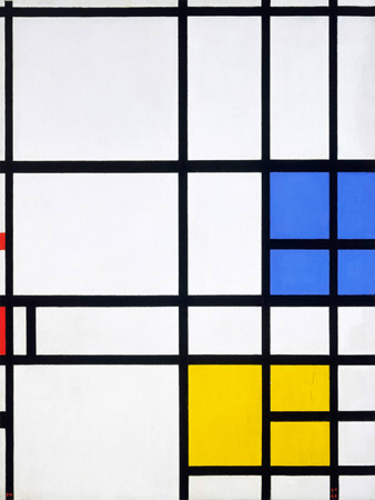 Piet Mondrian – Composition London