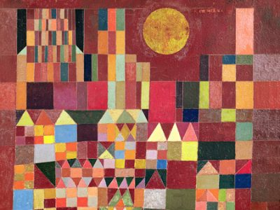 Paul Klee – Castle and Sun (detail)