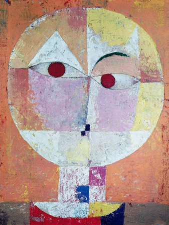 Paul Klee – Senecio (detail)
