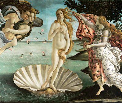 Sandro Botticelli – La nascita di Venere