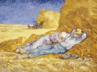 Vincent Van Gogh – Noon Rest