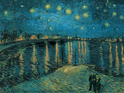 Vincent Van Gogh – The Starry Night I