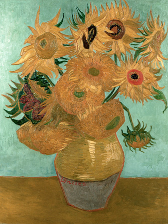Vincent Van Gogh – Sunflowers I