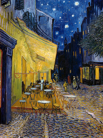 Vincent Van Gogh – Cafe Terrace at Night