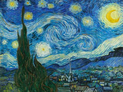 Vincent Van Gogh – The Starry Night