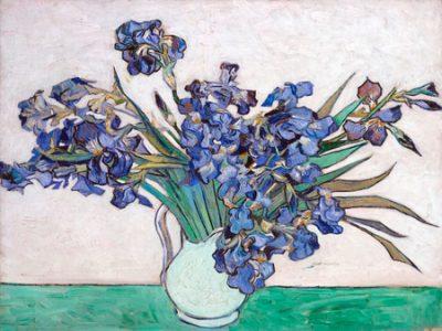 Vincent Van Gogh – Irises I