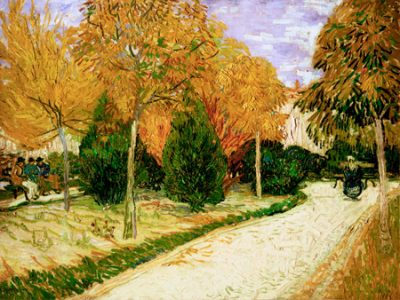 Vincent Van Gogh – Garden in Autumn