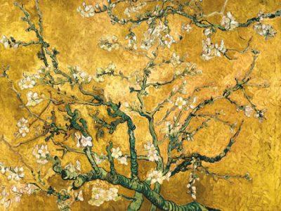 Vincent Van Gogh – Mandorlo in fiore (gold variation)