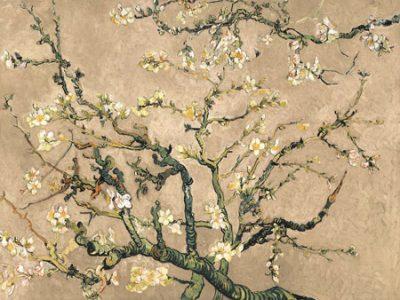 Vincent Van Gogh – Mandorlo in fiore (beige variation)