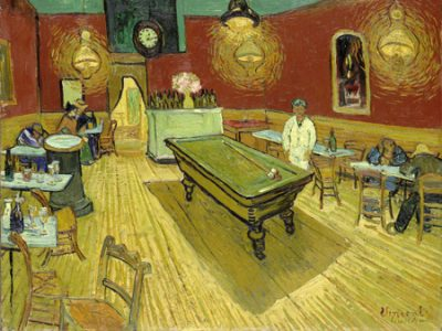 Vincent Van Gogh - The Night Cafe (detail)