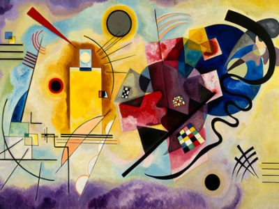 Wassily Kandinsky – Yellow, Red & Blue