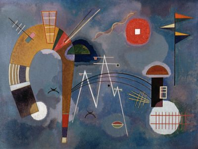 Wassily Kandinsky – Round and Pointed