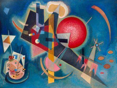 Wassily Kandinsky – Im Blau
