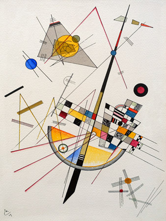 Wassily Kandinsky – Delicate Tension