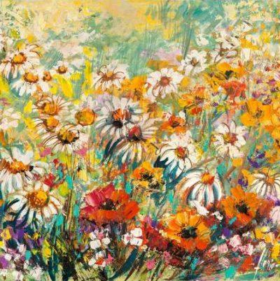 Luigi Florio – Campo fiorito (dettaglio)