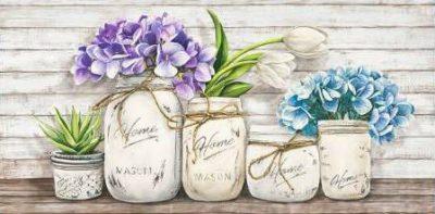 Jenny Thomlinson – Hydrangeas in Mason Jars
