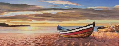 Adriano Galasso – Alba sulla spiaggia