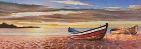 Adriano Galasso - Alba sulla spiaggia