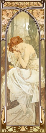 Alphonse Mucha - Times of the Day: Nightly