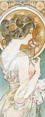 Alphonse Mucha – La Primevere