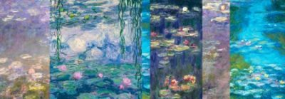 Claude Monet – Monet Deco Waterlilies I