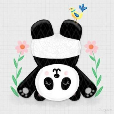 Noonday Design – Tumbling Pandas II