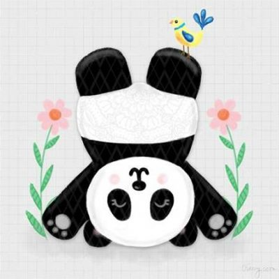 Noonday Design – Tumbling Pandas II